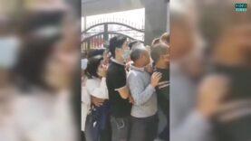 Chaos erupts in Jinxian, China, as residents under 60-yo can