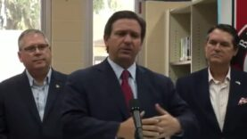 """Gov. Ron DeSantis: """"The crazy people are the ones that"""