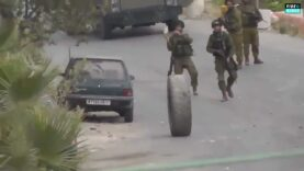 Israeli-soldiers-attacked-by-a-tire-and-lose.jpg