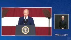"""Joe Biden: """"She looks like she's 19-yo sitting there like"""