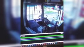 'Disturbing' video emerges days after a MTA bus crashed into