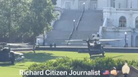 Black Hawk Helicopters spotted at the Capitol in Washington D.C.