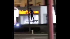 Dude on a Human Flying Drone is living the future.