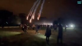 French police launched tear gas grenades to end rave in