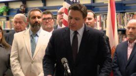"Gov. DeSantis signs bill requiring schools to teach ""Evils of"