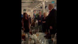 ICYMI — Donald J Trump celebrating his 75th birthday with