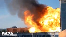 JUST IN – Explosion at a gas station in Novosibirsk,