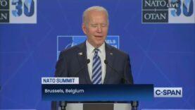 More stuttering from Biden when a CNN correspondent asks him