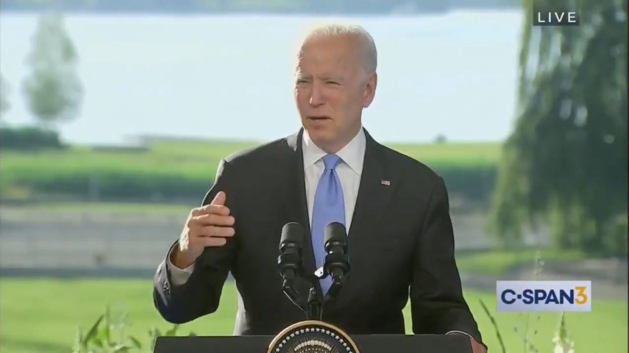 NOW: Biden almost refers to President Putin as President Trump