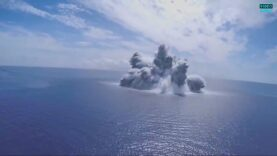 Navy fires thousands of pounds of explosives at USS Gerald
