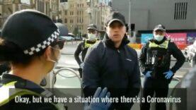 Police used heavy force to arrest a non-dangerous public speaker