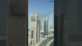 UAE: Another fire broke out in Abu Dhabi on Thursday