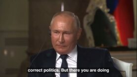 Vladimir Putin goes after NBC Reporter Keir Simmons for trying
