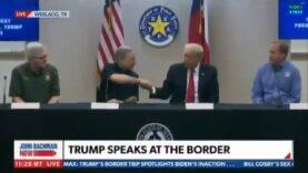 WATCH: Donald Trump mocking VP Kamala Harris just before visiting