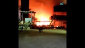 WATCH — Massive explosion at an Iranian factory rockets molten
