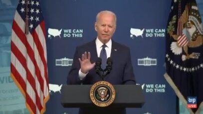 "Biden: ""We need to go to communities, neighborhoods & knocking"