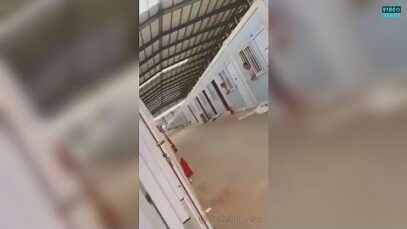 Disturbing Video footage from inside a Chinese COVID-quarantaine Camp show