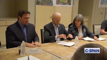 Florida's Gov. Ron DeSantis praises Biden for his support after