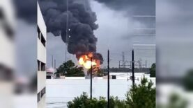 Mass power outage in Houston, Texas after Explosion reported at