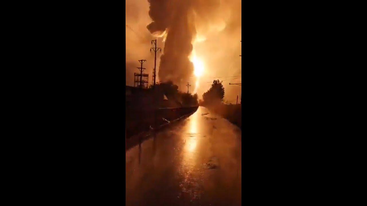 Powerful explosion at Aluminium Plant rocks Henan Province in China