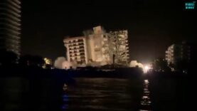 WATCH — Rest of collapsed Florida building demolished ahead of