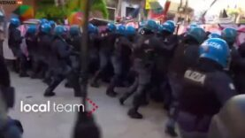 WATCH — Spartanic clash outside the G20 Summit between far-left
