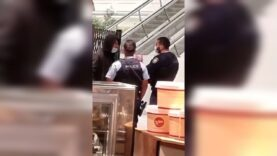 WATCH: Sydney Police Patrol arrest shopping mall 'Cleaner Upper' over