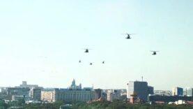 WATCH: US Black Hawk Helicopter makes emergency landing in downtown